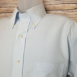 Brook brothers Size 16.5 × 35 Milano, Non IRON.